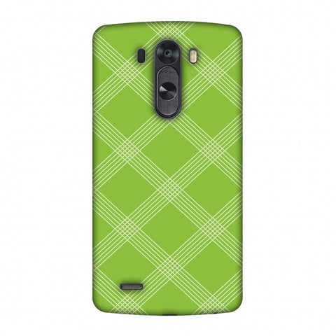 Carbon Fibre Redux Pear Green 5 Slim Hard Shell Case For LG G4
