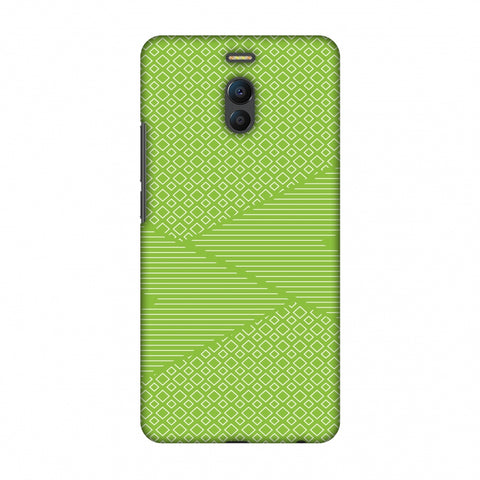 Carbon Fibre Redux Pear Green 6 Slim Hard Shell Case For Meizu Note 6