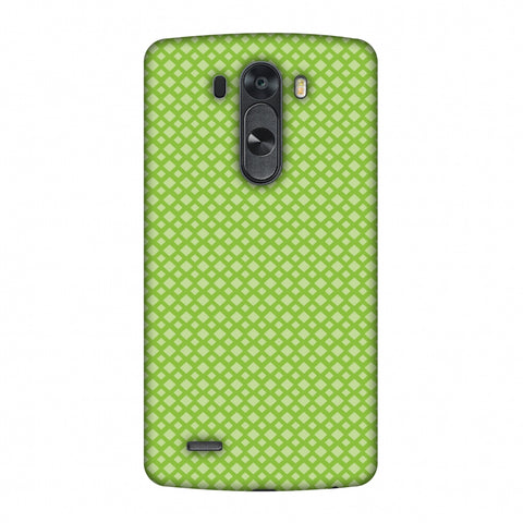 Carbon Fibre Redux Pear Green 7 Slim Hard Shell Case For LG G4