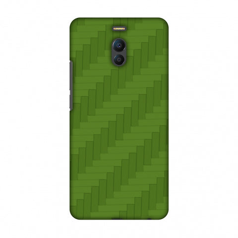 Carbon Fibre Redux Pear Green 8 Slim Hard Shell Case For Meizu Note 6