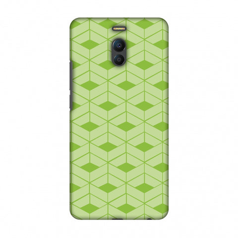 Carbon Fibre Redux Pear Green 9 Slim Hard Shell Case For Meizu Note 6