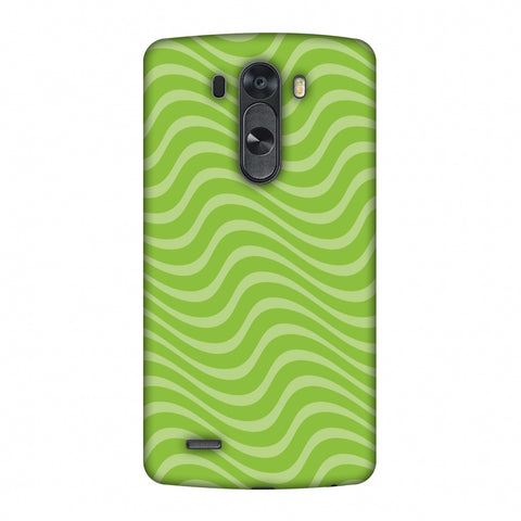 Carbon Fibre Redux Pear Green 10 Slim Hard Shell Case For LG G4