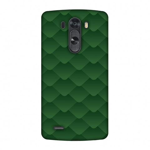 Carbon Fibre Redux Pear Green 11 Slim Hard Shell Case For LG G4