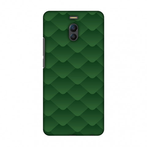Carbon Fibre Redux Pear Green 11 Slim Hard Shell Case For Meizu Note 6