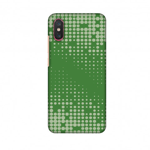 Carbon Fibre Redux Pear Green 12 Slim Hard Shell Case For Xiaomi Mi 8 Pro