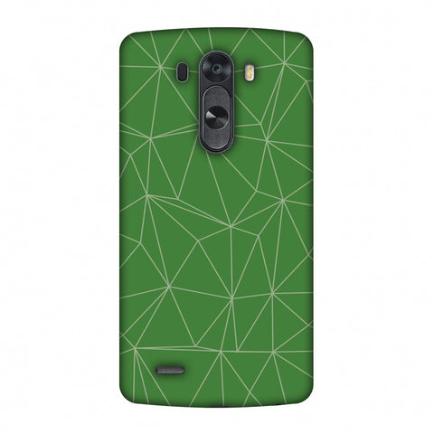 Carbon Fibre Redux Pear Green 14 Slim Hard Shell Case For LG G4