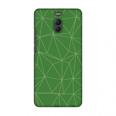 Carbon Fibre Redux Pear Green 14 Slim Hard Shell Case For Meizu Note 6