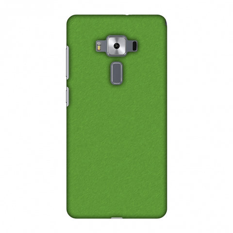 Carbon Fibre Redux Pear Green 15 Slim Hard Shell Case For Asus Zenfone 3 Deluxe ZS570KL