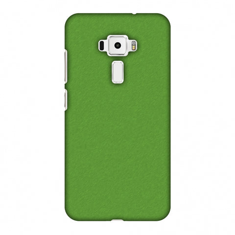 Carbon Fibre Redux Pear Green 15 Slim Hard Shell Case For Asus Zenfone 3 ZE520KL