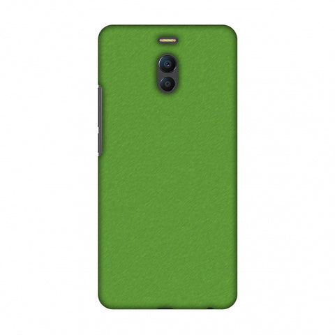 Carbon Fibre Redux Pear Green 15 Slim Hard Shell Case For Meizu Note 6