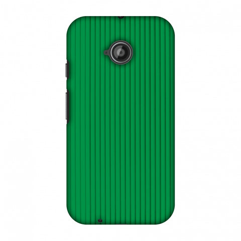 Carbon Fibre Redux Pear Green 16 Slim Hard Shell Case For Motorola Moto E 2nd Gen
