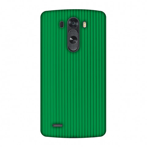 Carbon Fibre Redux Pear Green 16 Slim Hard Shell Case For LG G4