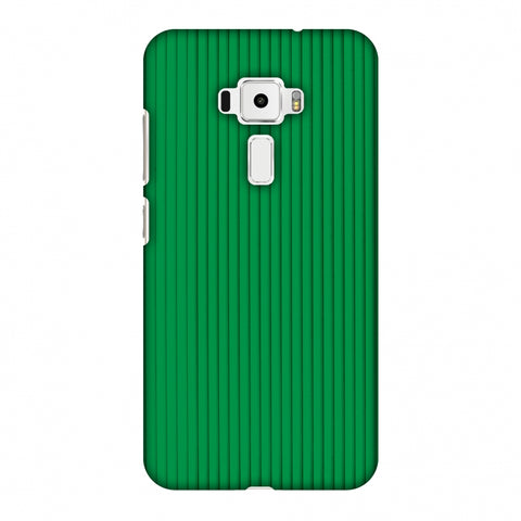Carbon Fibre Redux Pear Green 16 Slim Hard Shell Case For Asus Zenfone 3 ZE520KL