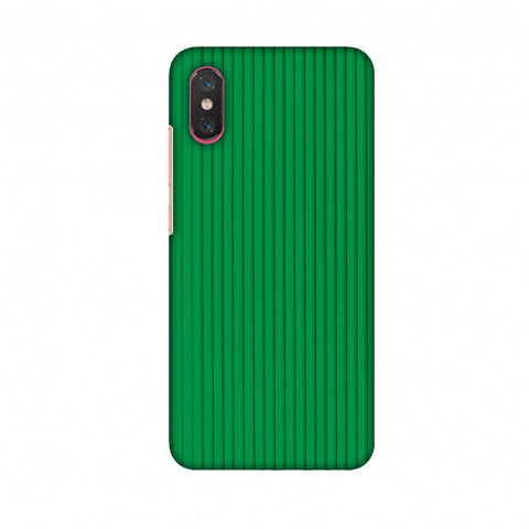 Carbon Fibre Redux Pear Green 16 Slim Hard Shell Case For Xiaomi Mi 8 Pro