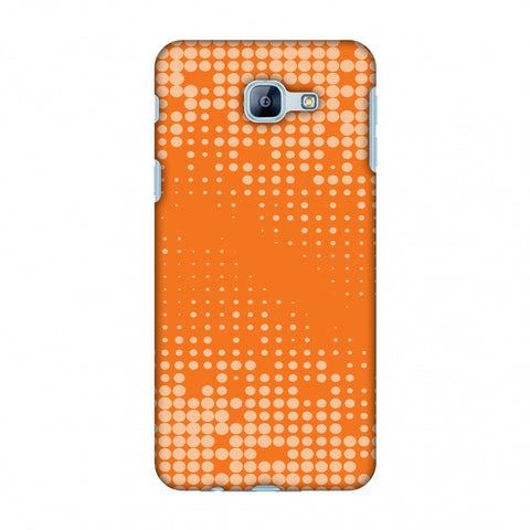 Carbon Fibre Redux Tangy Orange 11 Slim Hard Shell Case For Samsung Galaxy A8 2016