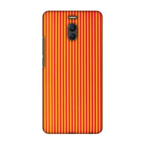 Carbon Fibre Redux Tangy Orange 14 Slim Hard Shell Case For Meizu Note 6