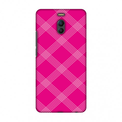 Carbon Fibre Redux Hot Pink 5 Slim Hard Shell Case For Meizu Note 6