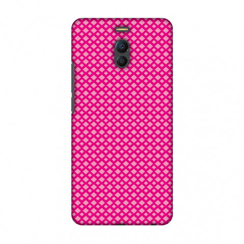 Carbon Fibre Redux Hot Pink 7 Slim Hard Shell Case For Meizu Note 6