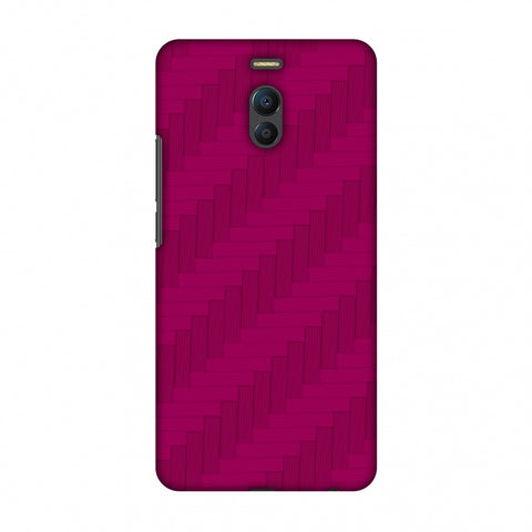 Carbon Fibre Redux Hot Pink 8 Slim Hard Shell Case For Meizu Note 6