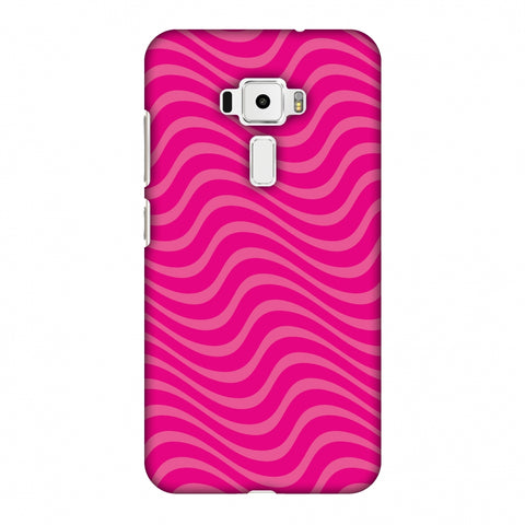 Carbon Fibre Redux Hot Pink 10 Slim Hard Shell Case For Asus Zenfone 3 ZE520KL
