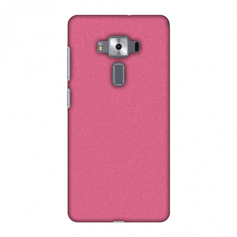 Carbon Fibre Redux Hot Pink 11 Slim Hard Shell Case For Asus Zenfone 3 Deluxe ZS570KL