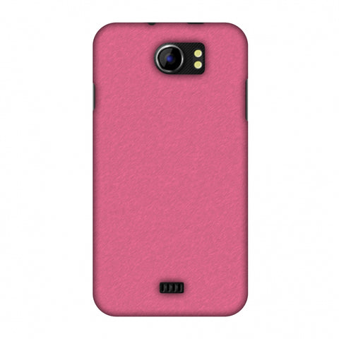 Carbon Fibre Redux Hot Pink 11 Slim Hard Shell Case For Micromax Canvas 2 A110