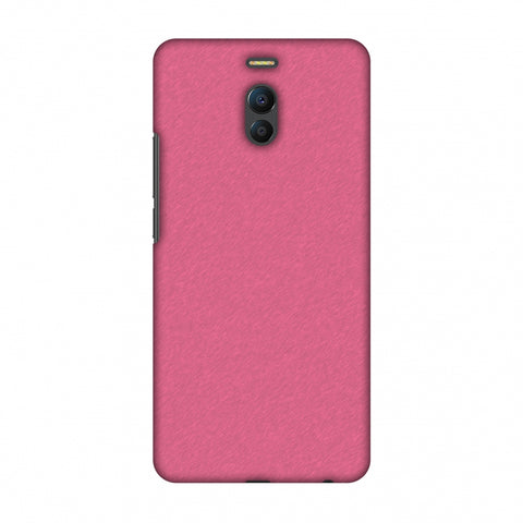 Carbon Fibre Redux Hot Pink 11 Slim Hard Shell Case For Meizu Note 6