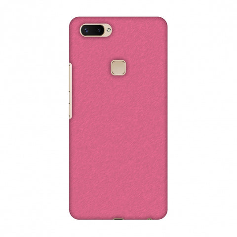 Carbon Fibre Redux Hot Pink 11 Slim Hard Shell Case For Vivo X20 Plus