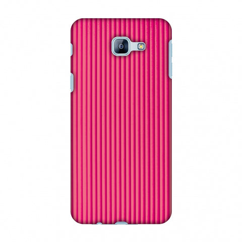Carbon Fibre Redux Hot Pink 12 Slim Hard Shell Case For Samsung Galaxy A8 2016