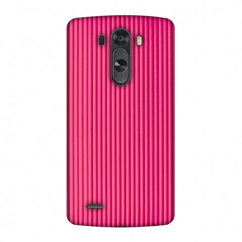 Carbon Fibre Redux Hot Pink 12 Slim Hard Shell Case For LG G4