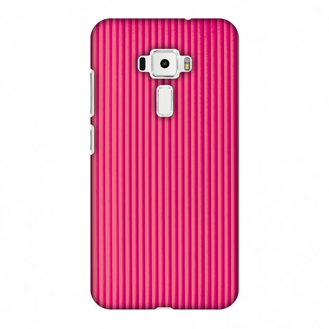 Carbon Fibre Redux Hot Pink 12 Slim Hard Shell Case For Asus Zenfone 3 ZE520KL
