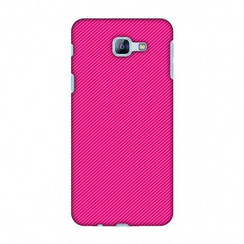 Carbon Fibre Redux Hot Pink 13 Slim Hard Shell Case For Samsung Galaxy A8 2016