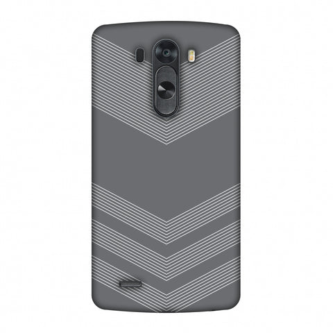 Carbon Fibre Redux Stone Gray 2 Slim Hard Shell Case For LG G4