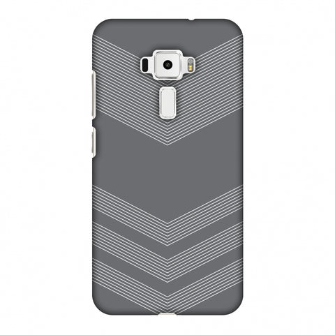 Carbon Fibre Redux Stone Gray 2 Slim Hard Shell Case For Asus Zenfone 3 ZE520KL