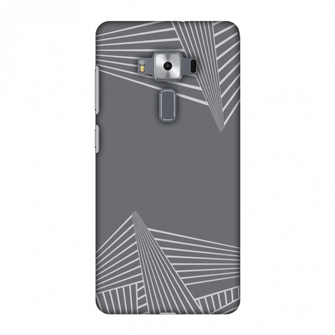 Carbon Fibre Redux Stone Gray 3 Slim Hard Shell Case For Asus Zenfone 3 Deluxe ZS570KL