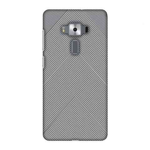 Carbon Fibre Redux Stone Gray 4 Slim Hard Shell Case For Asus Zenfone 3 Deluxe ZS570KL