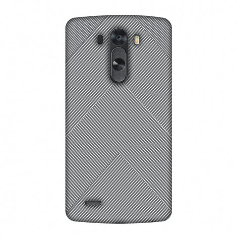 Carbon Fibre Redux Stone Gray 4 Slim Hard Shell Case For LG G4