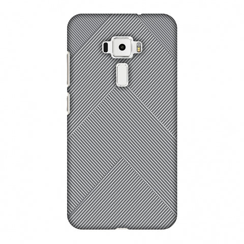 Carbon Fibre Redux Stone Gray 4 Slim Hard Shell Case For Asus Zenfone 3 ZE520KL