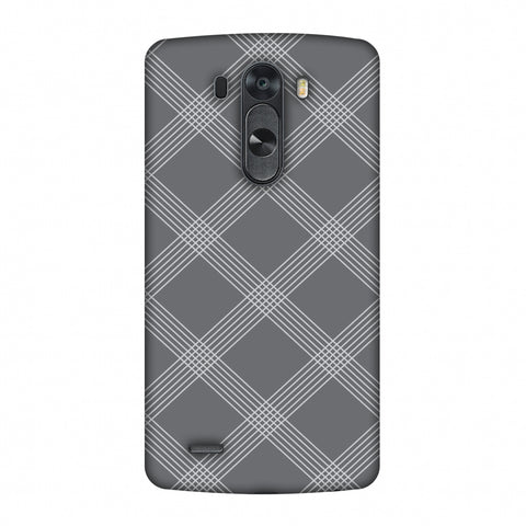Carbon Fibre Redux Stone Gray 5 Slim Hard Shell Case For LG G4