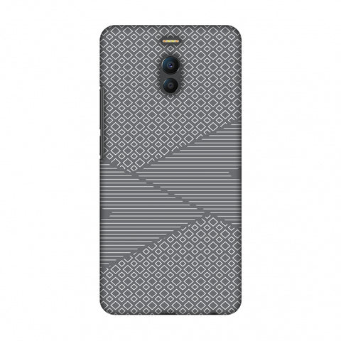 Carbon Fibre Redux Stone Gray 6 Slim Hard Shell Case For Meizu Note 6