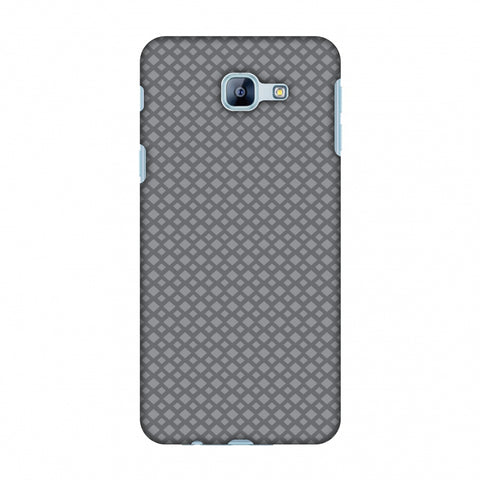 Carbon Fibre Redux Stone Gray 7 Slim Hard Shell Case For Samsung Galaxy A8 2016