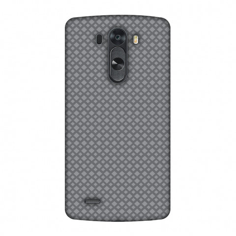 Carbon Fibre Redux Stone Gray 7 Slim Hard Shell Case For LG G4