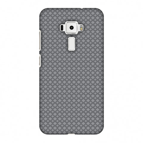 Carbon Fibre Redux Stone Gray 7 Slim Hard Shell Case For Asus Zenfone 3 ZE520KL