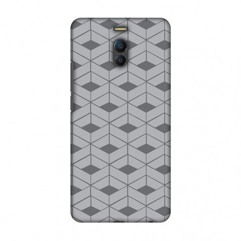 Carbon Fibre Redux Stone Gray 9 Slim Hard Shell Case For Meizu Note 6