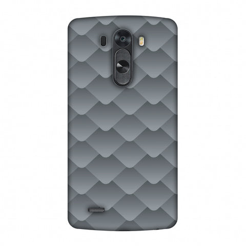 Carbon Fibre Redux Stone Gray 10 Slim Hard Shell Case For LG G4
