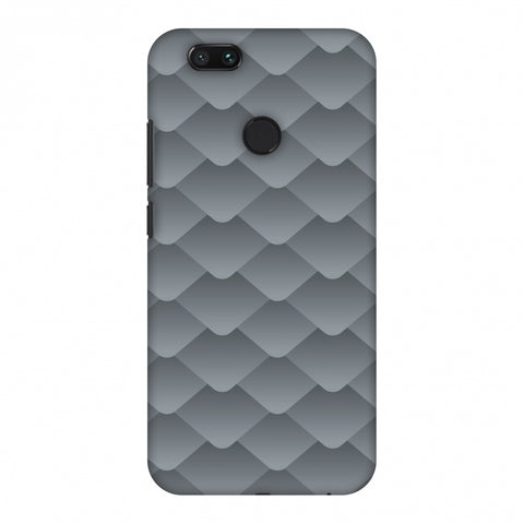 Carbon Fibre Redux Stone Gray 10 Slim Hard Shell Case For Xiaomi MI A1-5X