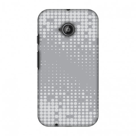 Carbon Fibre Redux Stone Gray 11 Slim Hard Shell Case For Motorola Moto E 2nd Gen