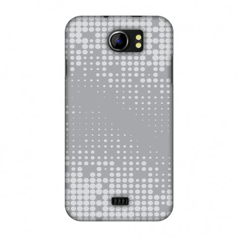 Carbon Fibre Redux Stone Gray 11 Slim Hard Shell Case For Micromax Canvas 2 A110