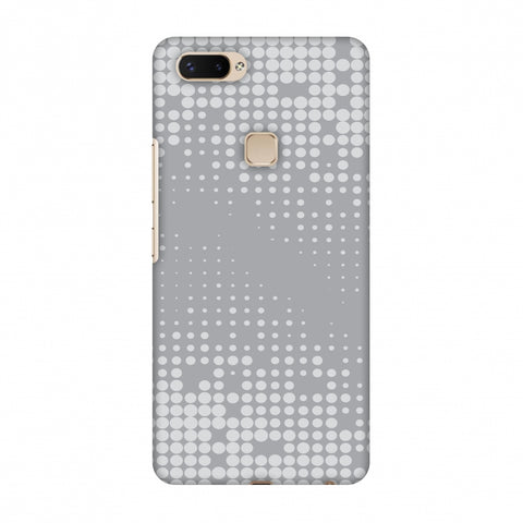 Carbon Fibre Redux Stone Gray 11 Slim Hard Shell Case For Vivo X20 Plus