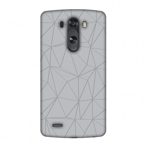 Carbon Fibre Redux Stone Gray 13 Slim Hard Shell Case For LG G4